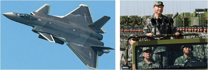 Chinese J 20 Stealth Fighter