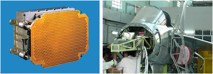 LCA Tejas With Israeli ELTA ELM-2052 AESA Radar