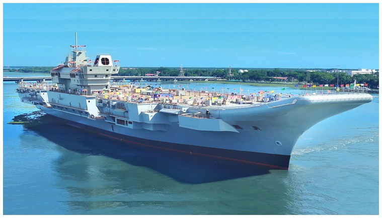 INS Vikrant , Indian Aircraft carriers under construction
