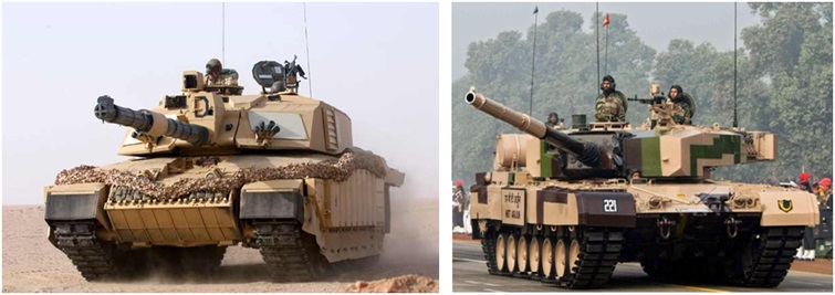 Indian Army Arjun Tanks