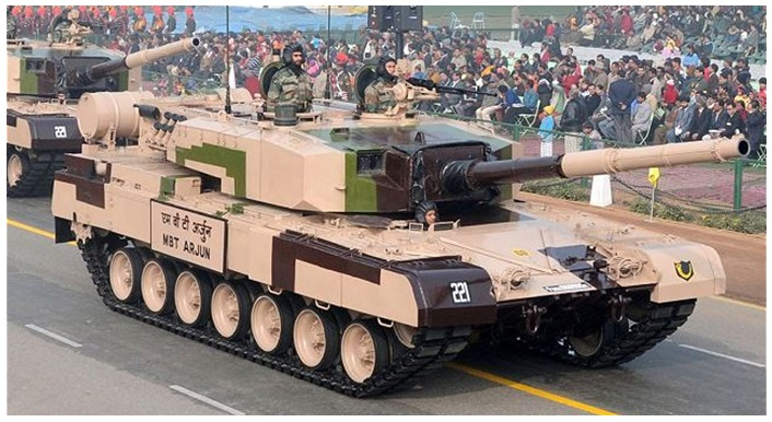Indian Army Tanks - Arjun Tanks