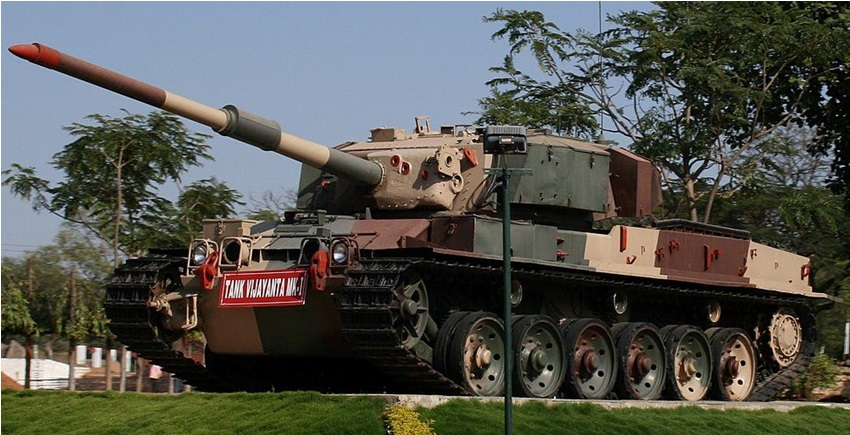 Indian Army Vijayanta Tank