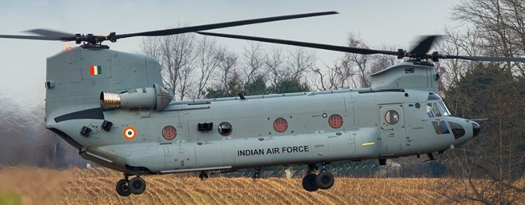 Chinook Helicopter , Indian Air Force