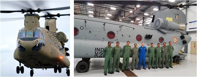 Chinook Joins Indian Air Force