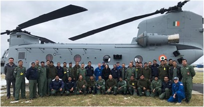 India Receives Chinook CH-47 F
