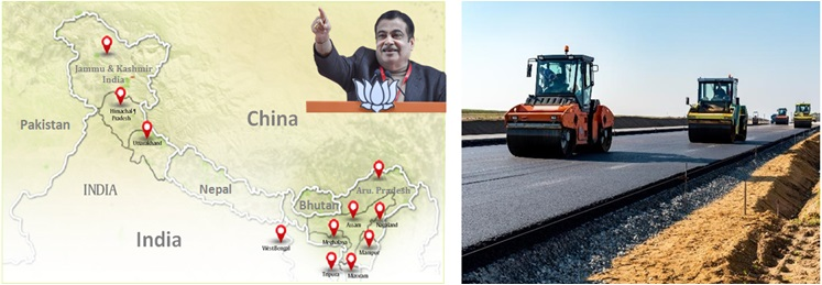 Road Construction China Border By BJP