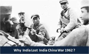 India China War