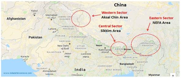 India China War - Boundary Dispute