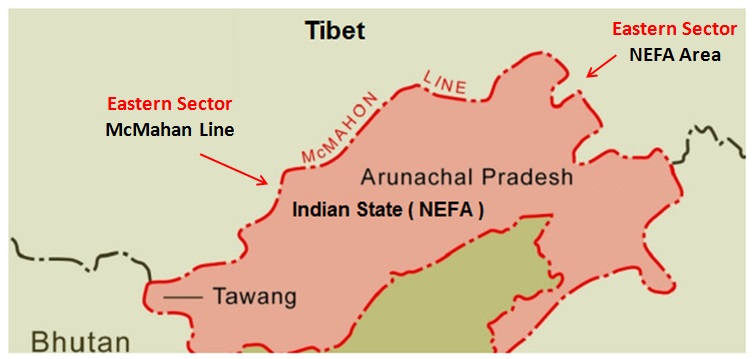 India China Conflict McMahon Line