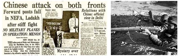 China Invades India 1962