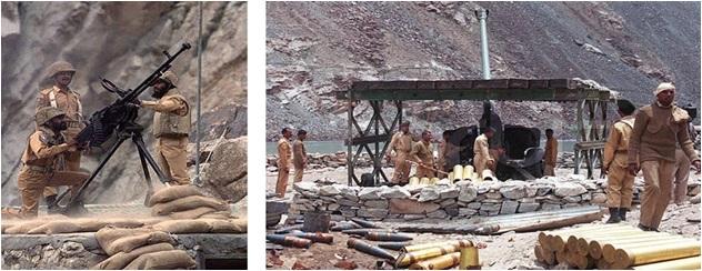 Kargil War 1999 Pakistan Army Positions