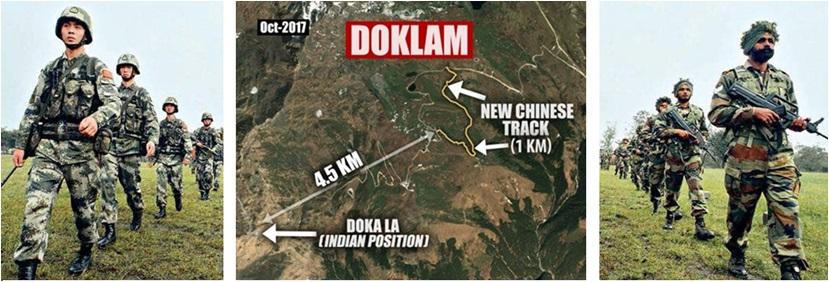 India China War Doklam