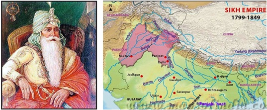 History Of Kashmir Maharaja Ranjit Singh Sikh Empire