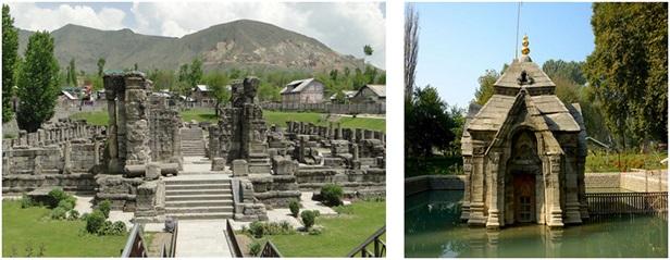 Kashmir History Hindu Temples