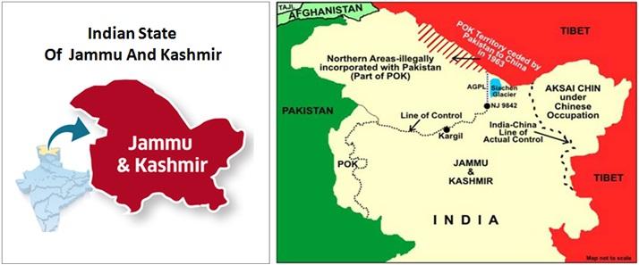 Kashmir History State of Jammu And Kashmir