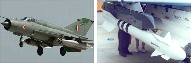 MIg 21 With R 73 Missile