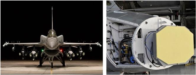 F-16 APG-83 SABR AESA Radar