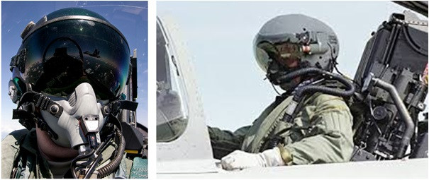 F-16 Boeing JHMCS - Joint Helmet Mounted Cueing System