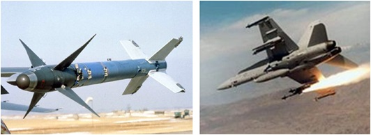 F16 AIM-9 Sidewinder Missile